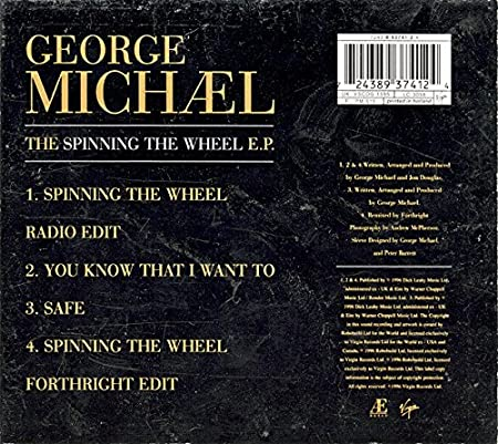 The Spinning The Wheel E.P.: George Michael: Amazon.es: Música