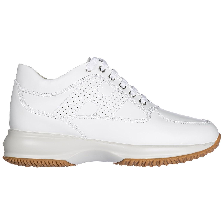 Hogan Zapatos Zapatillas de Deporte Mujer en Piel Nuevo Interactive Blanco 35.5 EU