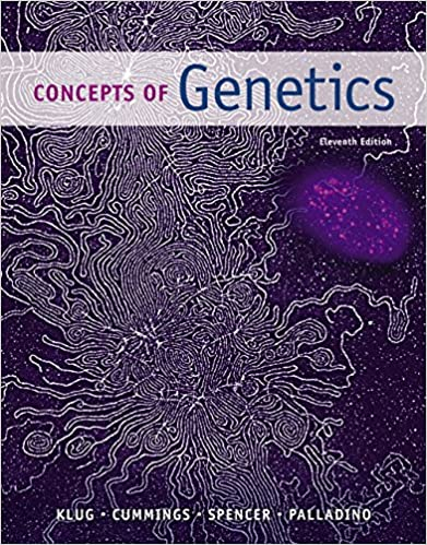 Concepts Of Genetics Klug Pdf