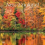 The Majesty of New England 2021 12 x 12 Inch Monthly Square Wall Calendar, USA United States of America East Coast Scenic Nature