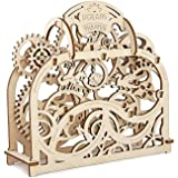 Mechanical Theater by Ugears Is 3D Puzzle Wooden Brainteaser for Kids, Teens and Adults
