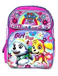 """Backpack - Paw Patrol - Girls Pup Power Pink 16"""" School Bag 111137"""