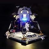 LIGHTAILING Light Set for (Creator NASA Apollo 11 Lunar Lander) Building Blocks Model - Led Light kit Compatible with Lego 10