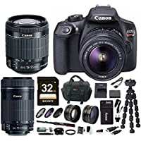 Canon EOS Rebel T6 DSLR Camera w/ EF-S 18-55mm & EF-S 55-250mm Lens Bundle Advantages Review Image