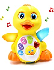 Fantastic Zone Musical Toys Duck Lights Action Music Toys With Adjustable Sound