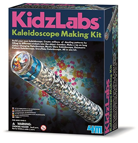 4M 83745 Kidz Labs Kaleidoscope Making Kit ()