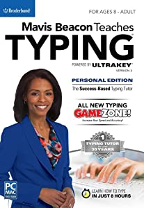 Mavis Beacon Teaches Typing Powered by UltraKey v2 - Personal Edition