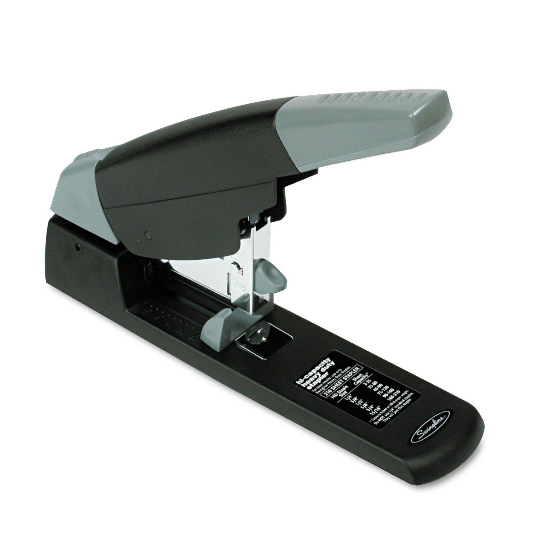 Swingline 90002 Heavy-Duty Stapler, 210 Sheets, Black/Gray