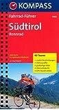 Südtirol: Rennradführer mit Top-Routenkarten im optimalen Maßstab.