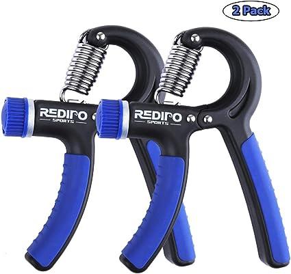 Hand Griper Exerciser Forearm Strengthener Adjustable Resistance 20 To 90 Pounds
