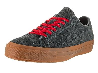 325b6b63844 Converse Unisex One Star Pro Suede Ox Black Casino Gum Skate Shoe 11 Men  US  Amazon.co.uk  Shoes   Bags