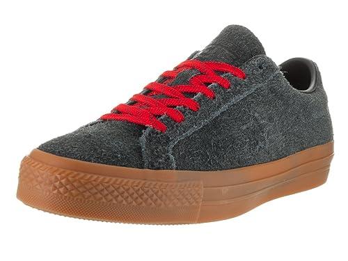 Converse Unisex One Star Pro Suede Ox Zapatillas de Skate, Color Negro, Talla 39 EU: Amazon.es: Zapatos y complementos
