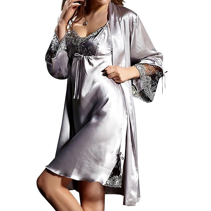 Amybria Lady patrones para coser Seda de encaje de estilo años color ...