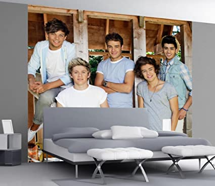 One Direction Large Wall Art Sticker Mural Zayn Louis Niall Harry Liam 1D