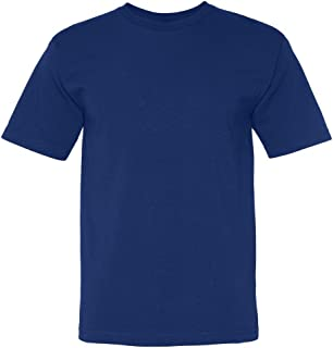 product image for Bayside Adult Short-Sleeve Tee with Pocket 5070 - Royal_L