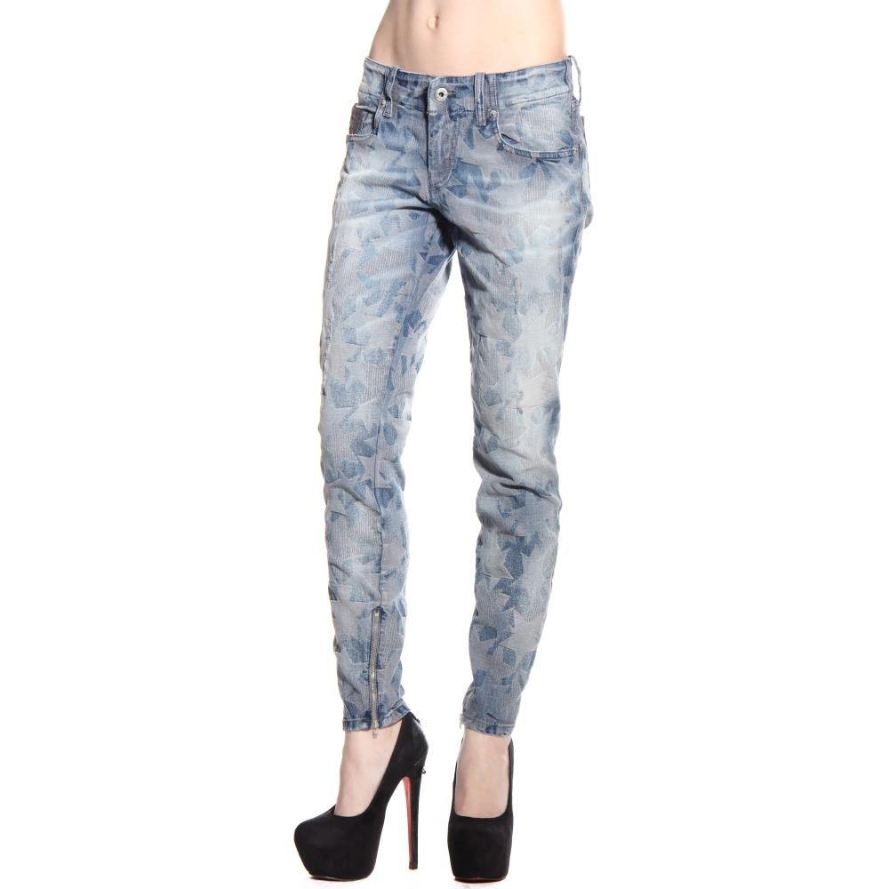 Diesel Women's Grupee-Zip Super Slim Skinny Leg Jean 0606M, Indigo, 28x32 by Diesel (Image #2)