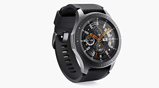 bd4b72257 Samsung Galaxy Watch 46mm, Silver - SM-R800NZSAXSG: Amazon.ae