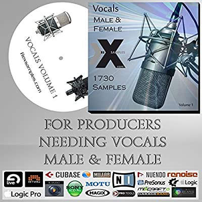 Vocals (Volume 1) - Wav Pack for Music Production - All Daw's Including Ableton Live, Cubase, Fl Studio, Logic , Pro Tools etc...