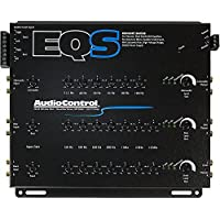AudioControl EQS BLACK Six Channel Trunk Mount Equalizer