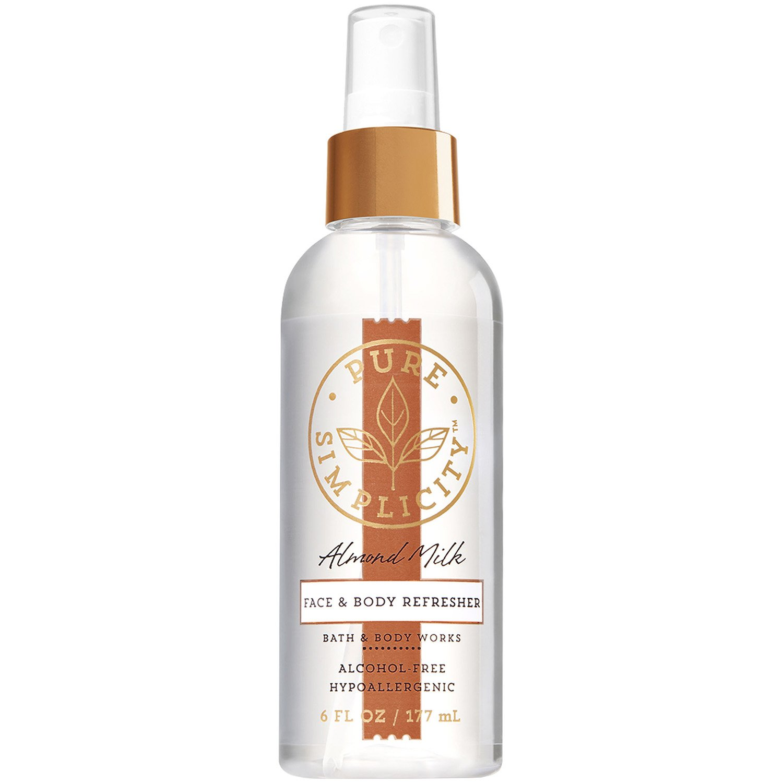Bath & Body Works Hypo-allergenic ALMOND MILK Face & Body Refresher