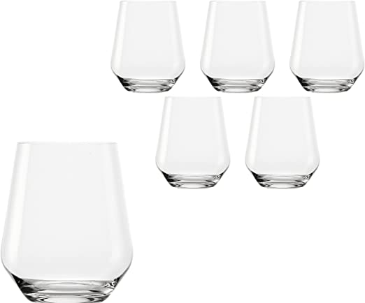 St/ölzle Lausitz 370 ml-sans ploMB Quatrophil Verre /à Whisky en cristal Transparent