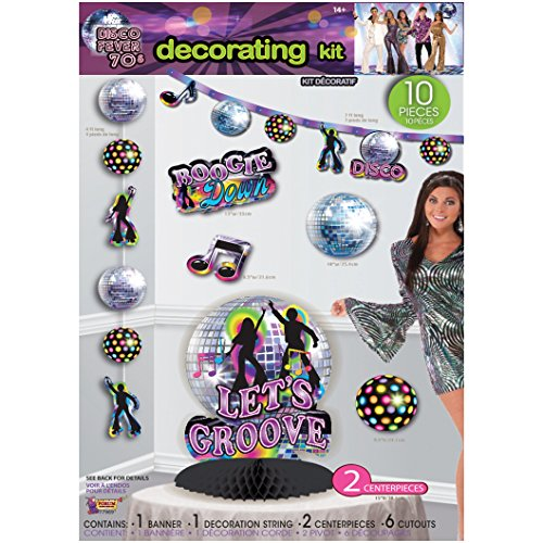 Forum Novelties Disco Party Decorating Set Disco Set