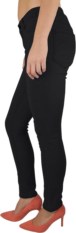 48 WestAce Skinny Jeans stretch nero pantaloni Super Spandex Jeggings pantaloni 36
