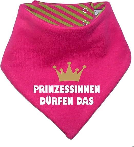 Frech aber mit Stil/in 4 Designs/Größen 0-36 Monate und Kinder Wende Halstuch mit Sternchen KLEINER FRATZ mitwachsendes Baby