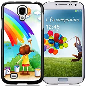 New Personalized Custom Designed For Samsung Galaxy S4 I9500 i337 M919 i545 r970 l720 Phone Case For Cartoon Childrens Day Illustraction Phone Case Cover