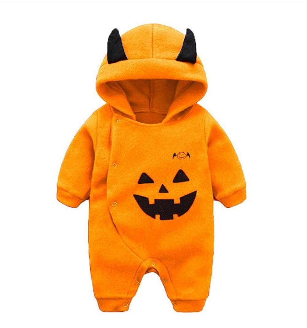 Comcrib Newborn Baby Fleece Long Sleeve Hooded Romper Baby Leisure Climbing Jumpsuit Outfits