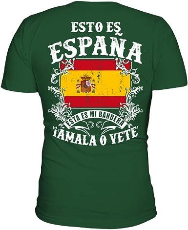 TEEZILY Camiseta Hombre Esto ES ESPAÑA