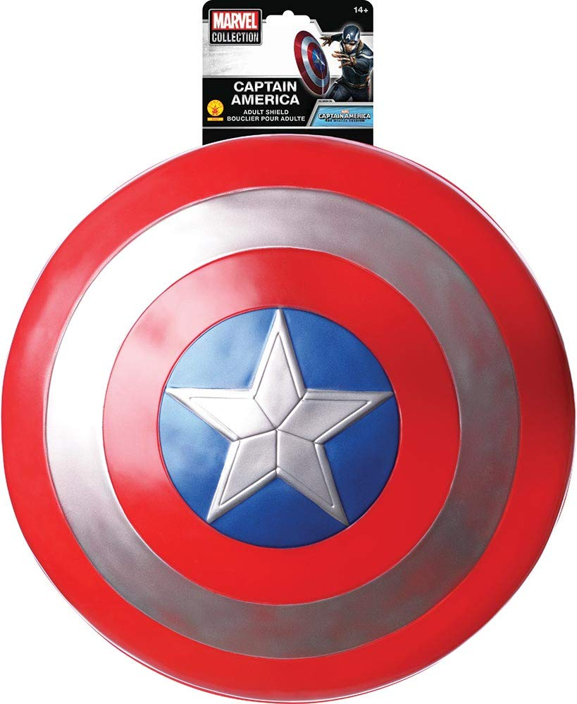 Rubies Captain America: The Winter Soldier Retro Costume Shield, 24'' by Rubie's (Image #3)