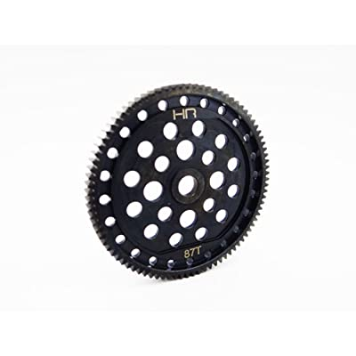 Hot Racing SECT887 Stock HD Steel 48P 87T Spur Gear - ECX 2WD: Toys & Games