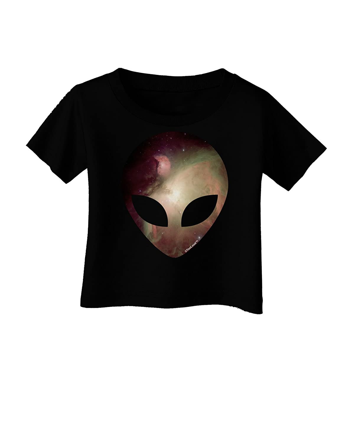 TooLoud Extraterrestrial Face Space #2 Infant T-Shirt Dark