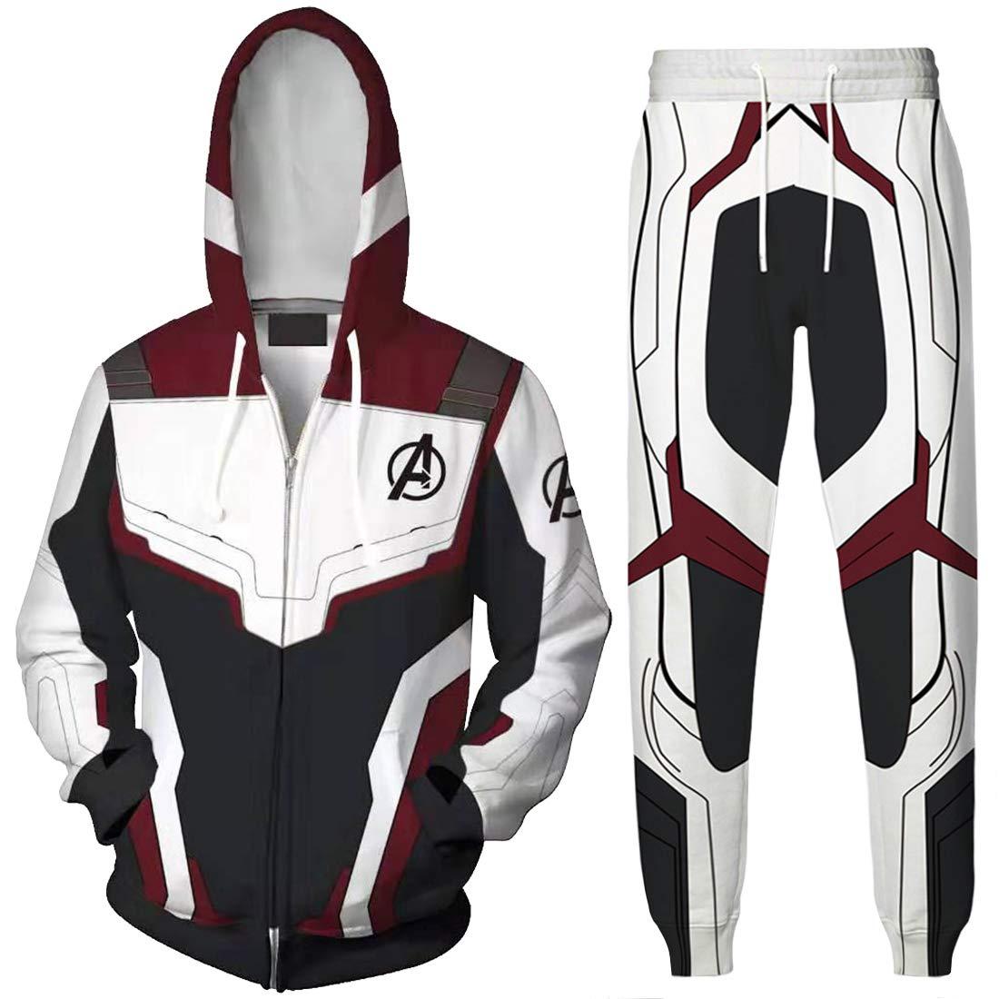 Amazon.com: EMILYLE Boy Avengers Hoodie Endgame Suits ...