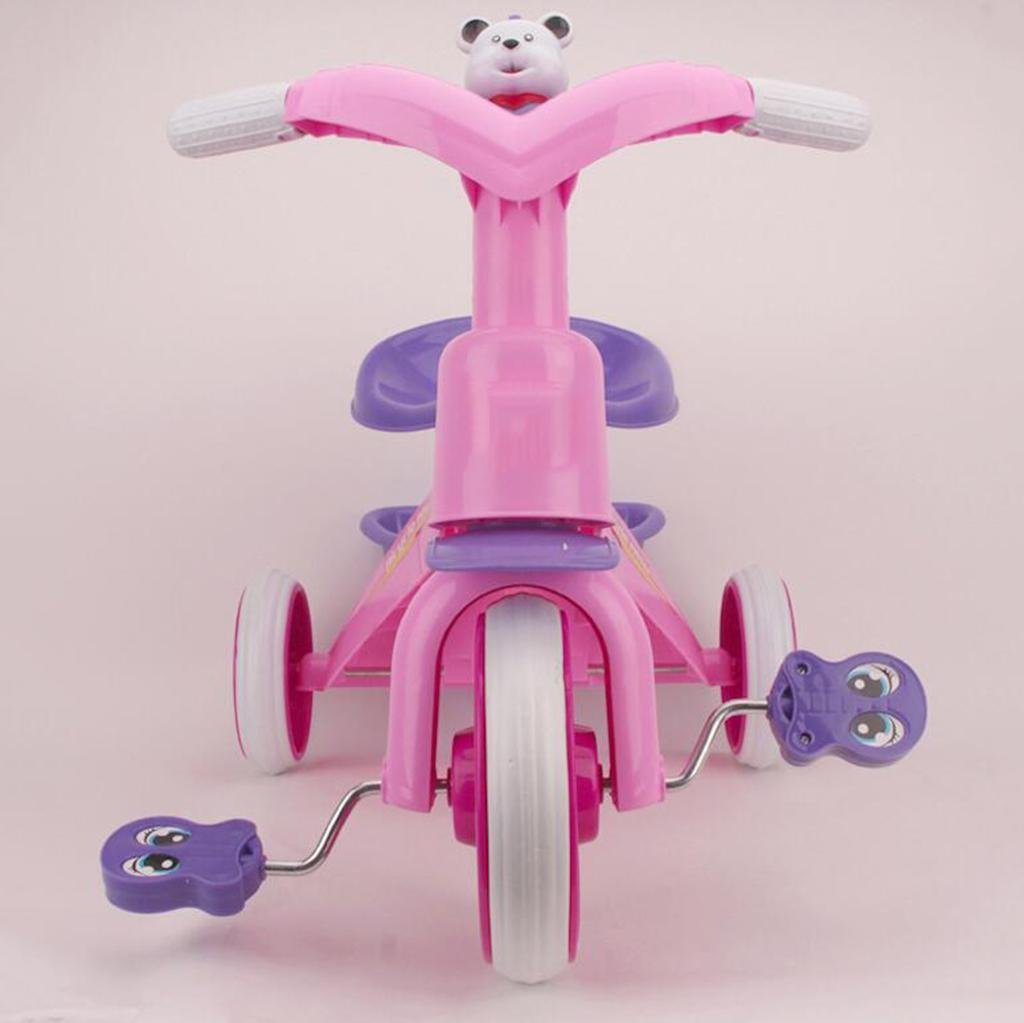 GOUGOU Child Tricycle Baby Bicycle Child Trolley Baby Stroller