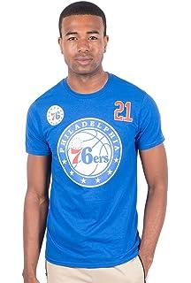 UNK NBA Joel Embiid Philadelphia 76ers Men s T-Shirt Short Sleeve Tee Shirt cc601d38c