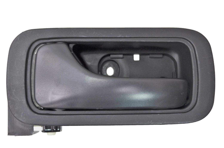 Interior Inner Inside Door Handle PT Auto Warehouse HO-2602A-RL Rear Left Driver Side Black