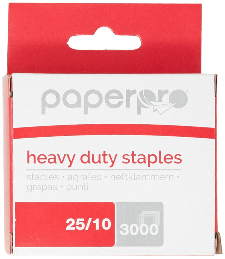 Amazon.com : PaperPro Heavy Duty Staples, 3/8\