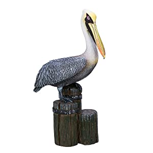 Beachcombers SS-BCS-03098 Pelican on Triple Piling