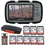 Stealth Cam SD Card Reader and Viewer with 4.3 LCD + 8 16GB SD Cards + Rugged Storage Case