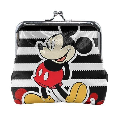Xzcxyadd Monedero de Mickey Mouse para mujer, con hebilla ...