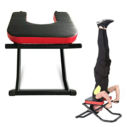 Amazon.com : GDAE10 Folding Yoga Inversion Chair, Fitness ...