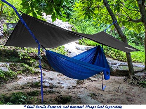 Chill Gorilla Pro Waterproof Tent Tarp Rain Fly And