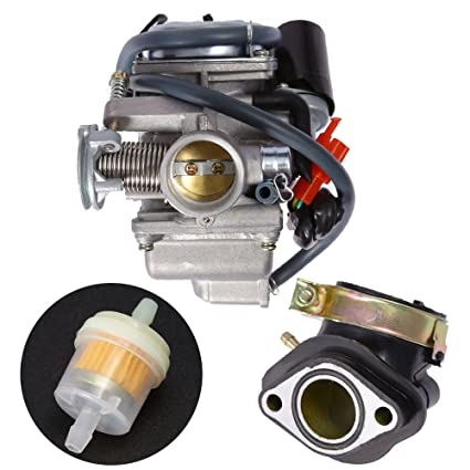 Amazon com : DH&O Carburetor with Intake Manifold Kit for