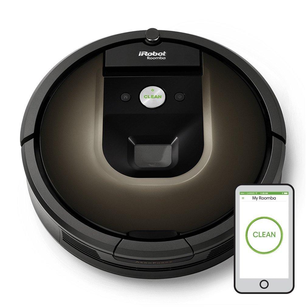 iRobot Roomba 980 Sin bolsa Negro aspiradora robotizada
