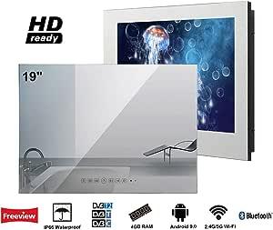 Soulaca innovativtv LED Andriod Smart TV Baño Espejo Frontal 19 ...
