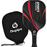 Professional Pickleball Paddle - USAPA Approved Pickleball Paddles with Carbon Fiber Surface, Nomex Honeycomb Core…