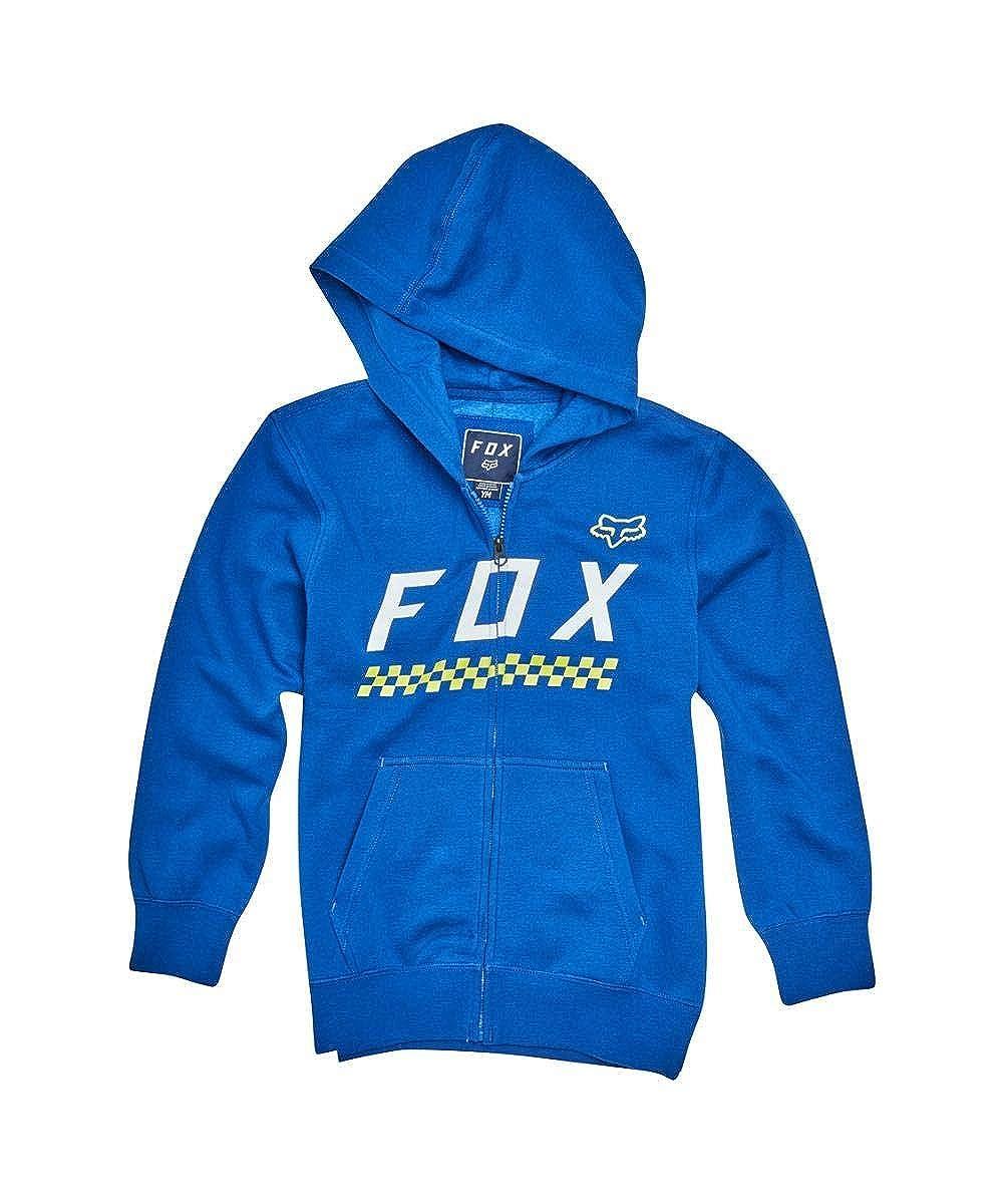 Fox Racing Boys Full Mass Hoody Zip Sweatshirts 19796-002-YL