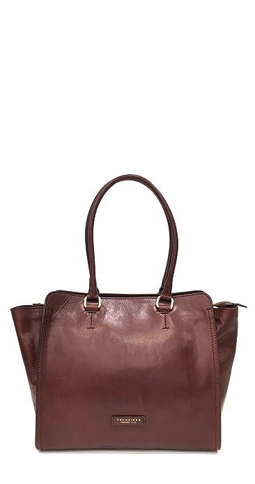 f2d55df5be5 The Bridge Women's Tote Bag brown marrone oro: Amazon.co.uk: Shoes ...